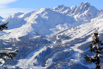 Courchevel - resort view